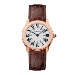 Cartier Ronde Solo de Cartier 18K Rose Gold & Steel Ladies Watch W6701007