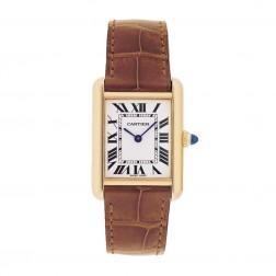 Cartier Tank Louis Cartier 18K Yellow Gold Ladies Watch Small W1529856