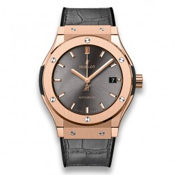 Hublot Classic Fusion Racing Grey King Gold Watch 511.OX.7081.LR