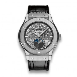 Hublot Classic Fusion Aerofusion Moonphase Titanium Watch 517.NX.0170.LR