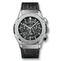 Hublot Classic Fusion Aerofusion Titanium Chronograph Watch 525.NX.0170.LR