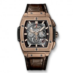 Hublot Spirit of Big Bang 18K Rose Gold Chronograph Watch 601.OX.0183.LR
