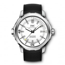 IWC Aquatimer Stainless Steel Divers Watch White Dial IW329003