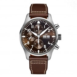 IWC Pilot Chronograph St. Exupéry Edition Stainless Steel Watch IW377713