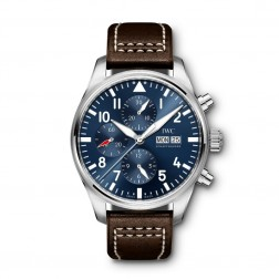 "IWC Pilot Chronograph ""Le Petite Prince"" Stainless Steel Watch IW377714"