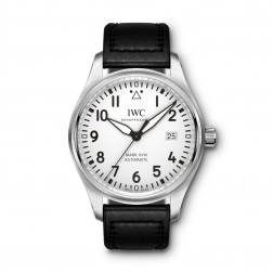 IWC Pilot Mark XVIII Stainless Steel Watch Silver Dial IW327002