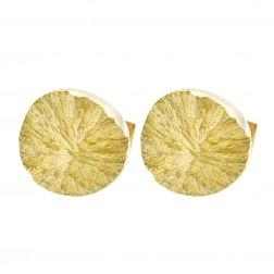 Lapponia Designed by Björn Weckström 1980 Vintage 'Swirls' Cufflinks 14K Yellow Gold