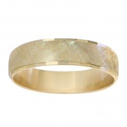 5.8mm 14K Yellow Gold Men's Wedding Band