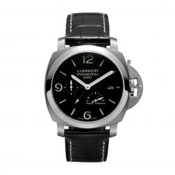 Panerai Luminor 1950 Stainless Steel GMT Power Reserve Watch PAM00321