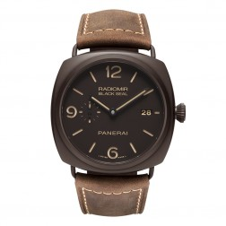 Panerai Radomir Black Seal 3 Days Brown Ceramic Watch PAM00505