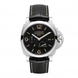 Panerai Luminor 1950 GMT Power Reserve Stainless Steel Watch PAM01321