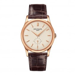 Patek Philippe Calatrava Hand Winding 18K Rose Gold Watch 5196R-001