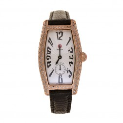 Michele Coquette Diamond Rose Tone Stainless Steel Watch 71-8001