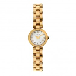 Raymond Weil Allegro Yellow Gold Plated Stainless Steel Ladies Watch 5817