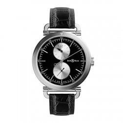 Bell & Ross Vintage WW2 Regulateur Officer Stainless Steel Watch BRWW2-REG-BS/SCR